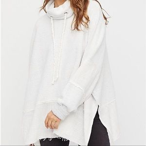 White Zoe pullover from free people